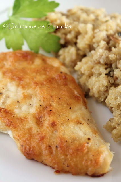 Low-FODMAP Creamy Parmesan Chicken