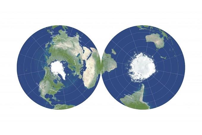 Este novo mapa pode consertar nossas visões distorcidas do mundo?