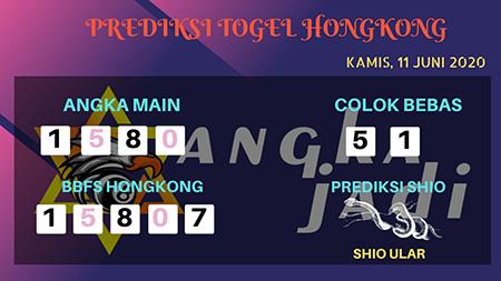 Prediksi HK Malam Ini 11 Juni 2020 - Bocoran HK