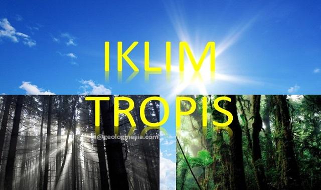 ciri ciri iklim tropis