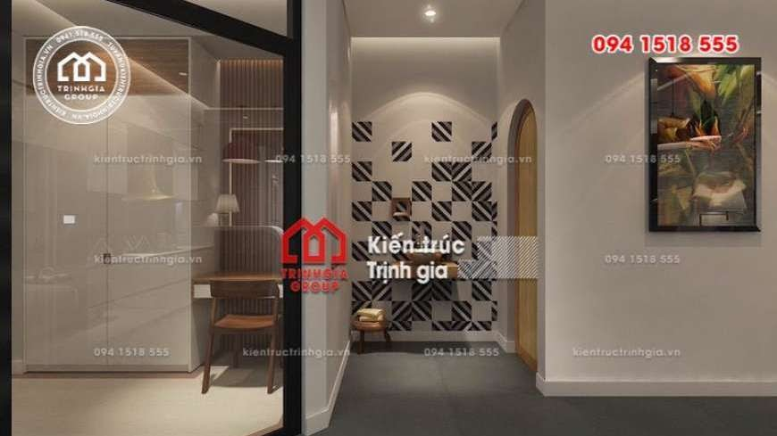 Bản vẽ mẫu thiết kế nhà phố mặt tiền 4m kết hợp kinh doanh - Mã số NP1333 - Ảnh 2