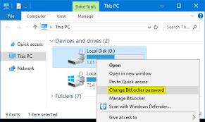 Cara Mengatasi Bitlocker Recovery WINDOWS 10