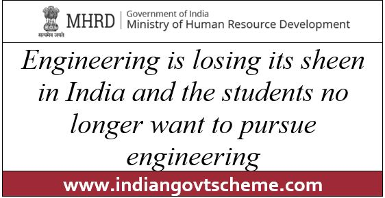 Engineering+is+losing+its+sheen+in+India