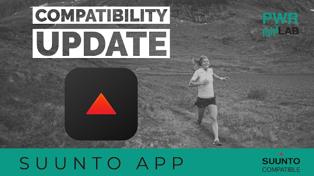 PWR Lab Officially Compatible With Suunto App