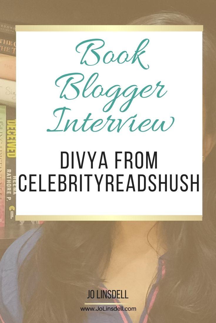 Book Blogger Interview: Divya Agrawal from celebrityreadshush