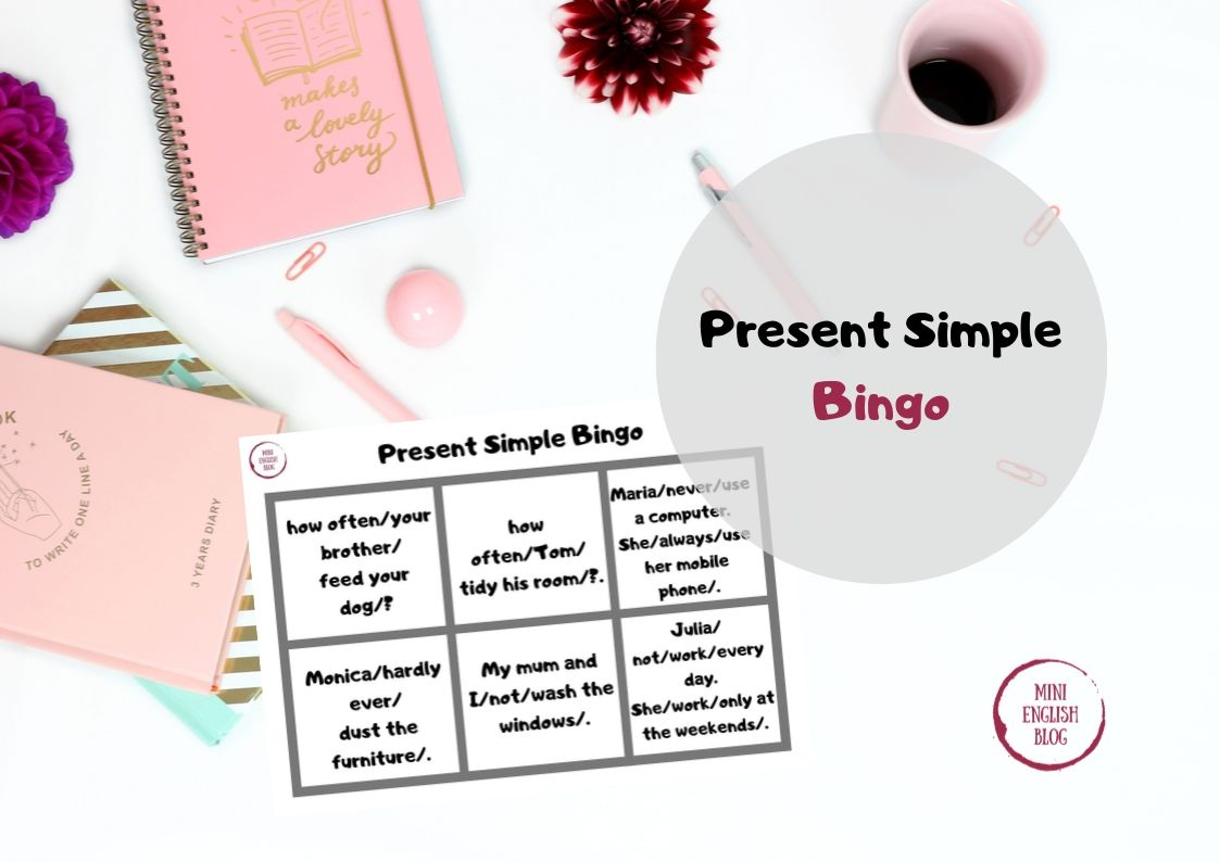 Present Simple - Bingo
