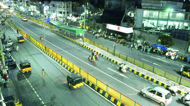 roads of visakhapatnam