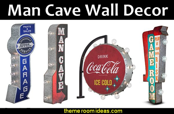 man cave wall decor  Marquee Signs Vintage Coca-Cola Man Cave, Bar, Garage decor