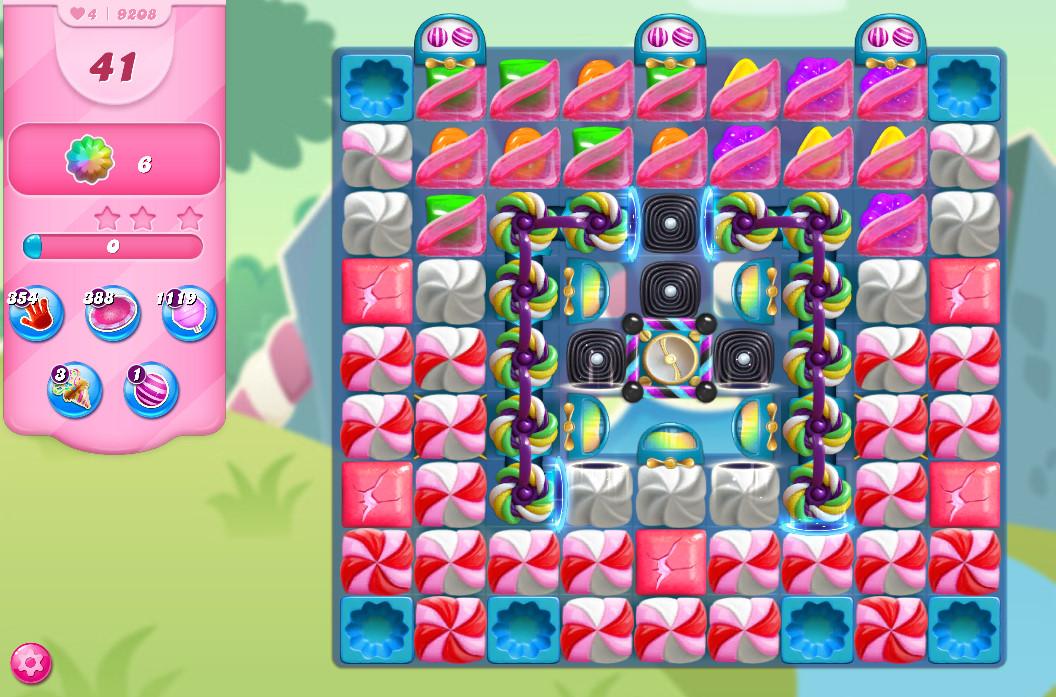 Candy Crush Saga level 9208