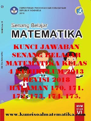 Tribunternate com berikut kunci jawaban buku tematik untuk kelas 4 sd mi tema 3. Kunci Jawaban Matematika Kelas 4 Halaman 173 174 Doc Soalkunci