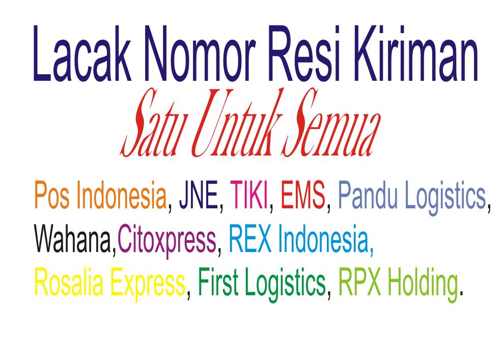 Lacak Resi Kiriman | Pos Indonesia | Tiki | JNE | Pandu Logistics ...