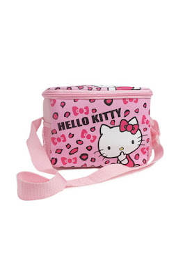 Perlengkapan Makan Pink HK Leopard Shoulder Bag