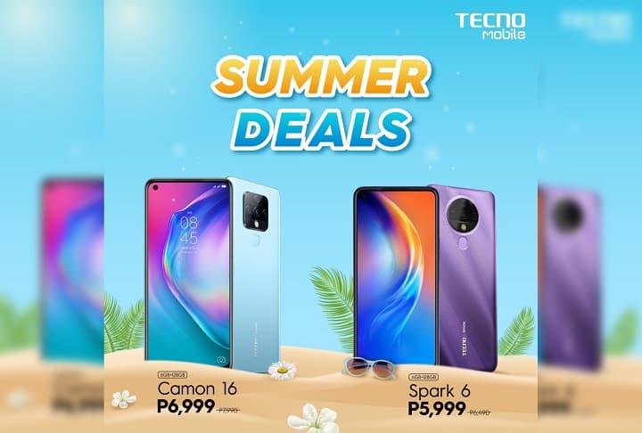 Tecno Summer Deals