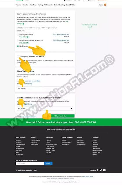 شرح شراء دومين (نطاق) من جودادي ارخص دومين 0.82$ بطريقة شرعية مجربة 100%