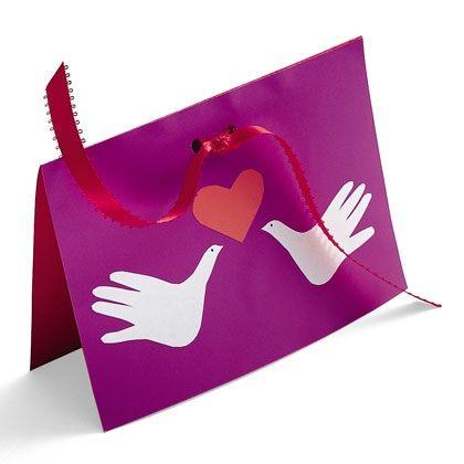 Valentine Cards: Loving Hands