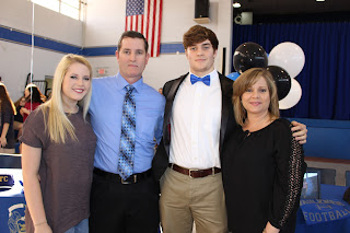 Four Montgomery Catholic Seniors Sign to Play Football on National Signing Day 4