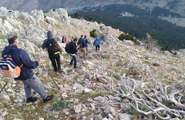 Εκπαίδευση ορεινής διάσωσης στο Αρτεμίσιο για την Ελληνική Ομάδα Διάσωσης Αργολίδας