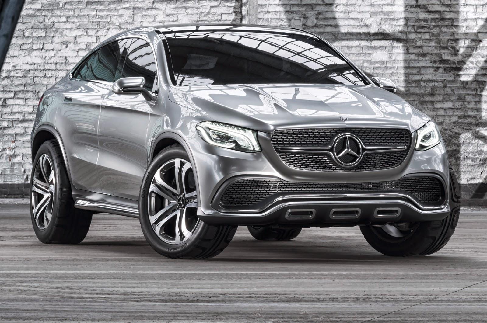 2014 Mercedes-Benz Concept Coupé SUV | Cars Today