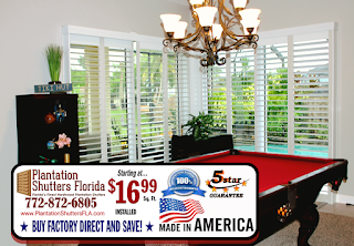 Plantation Shutters for Homes