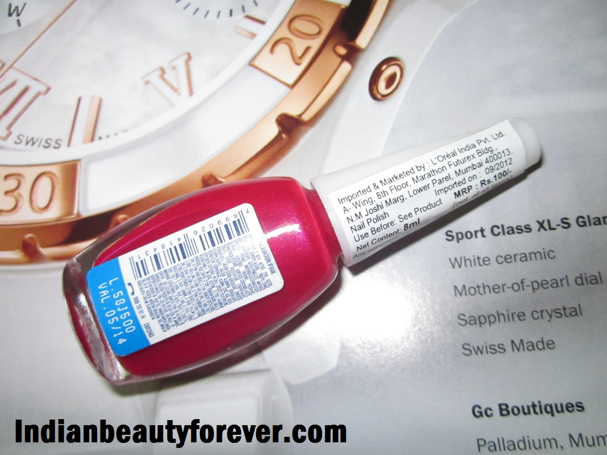 Maybelline Colorama in Glamour Pink