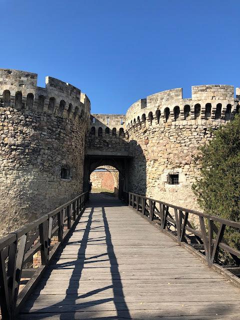 Kalemegdan'a giriş kapısı