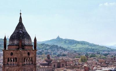 Bologna panorama santuario San Luca