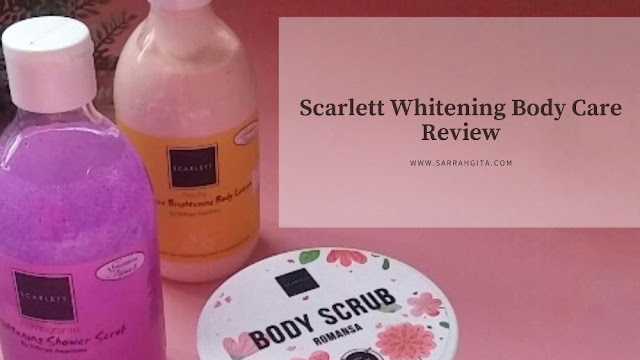 scarlett whitening body care review