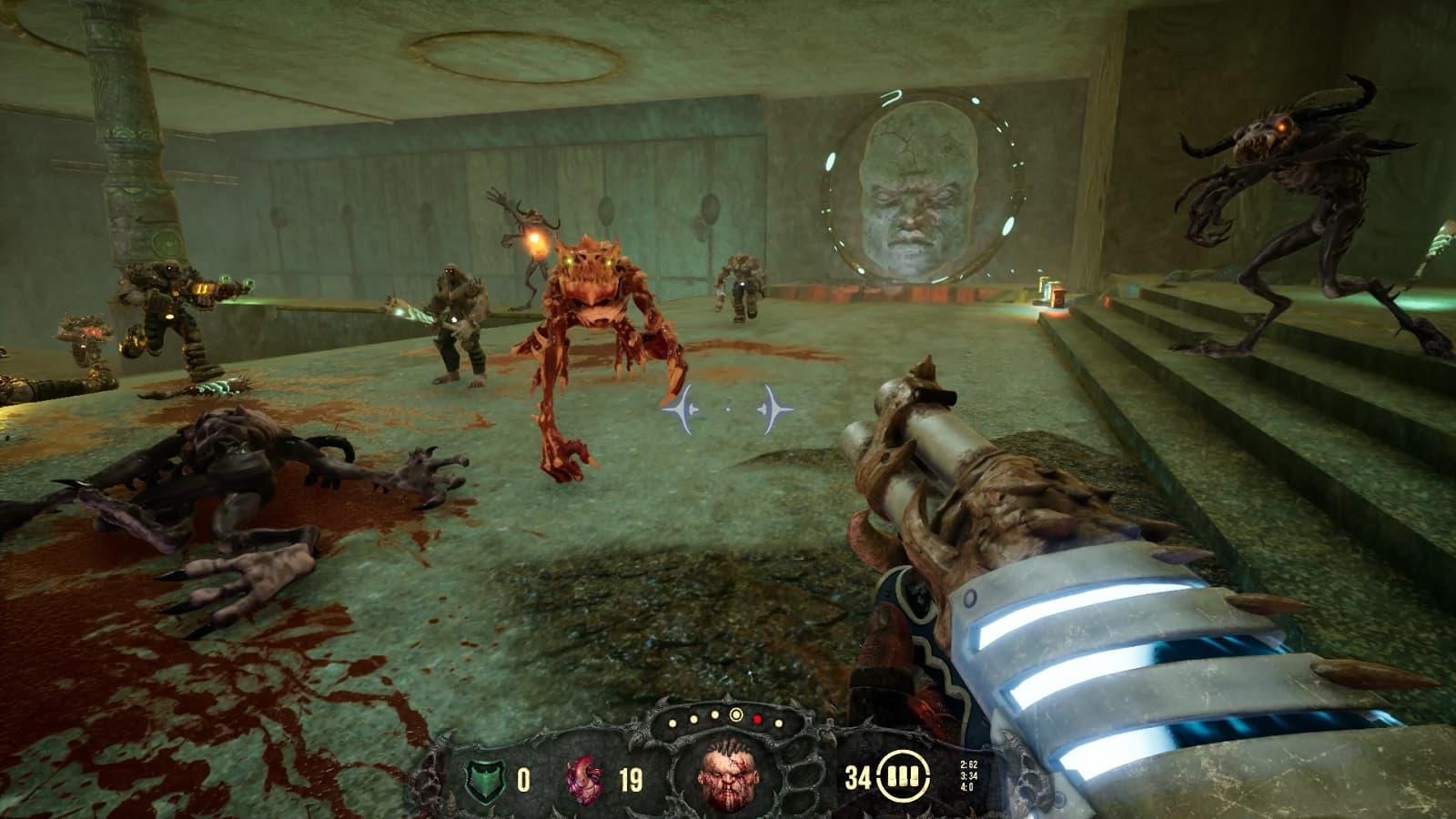 Рецензия на игру Hellbound - кривого и хромого последователя Doom и Quake - 03