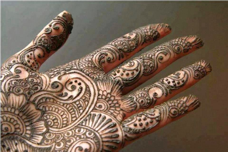 New Party Mehndi Designs : Latest mehndi designs for hands and feet wfwomen