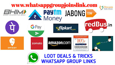 Join 100+ Loot Deals & Loot Tricks Whatsapp Group Joins Link