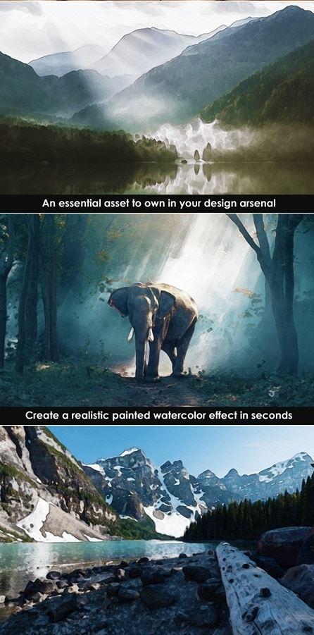 Action tạo hiệu ứng ảnh sáng tự nhiên