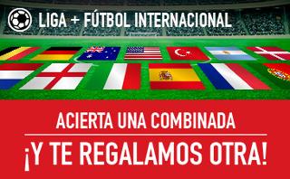 Sportium promocion Fútbol: acierta combinada una regalo 21-23 octubre