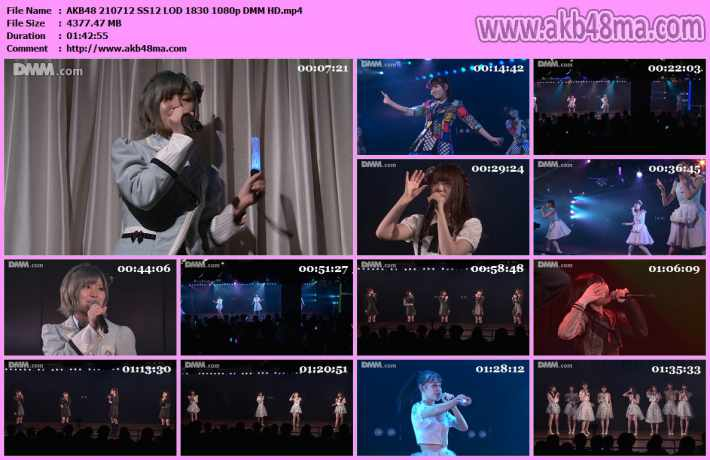 210712 AKB48「僕の夏が始まる」公演