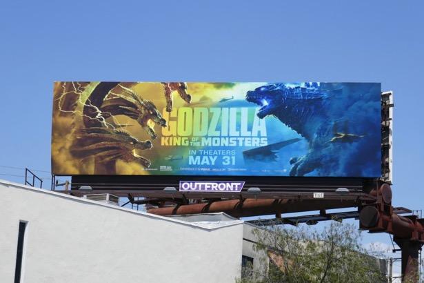 Godzilla King of the Monsters billboard
