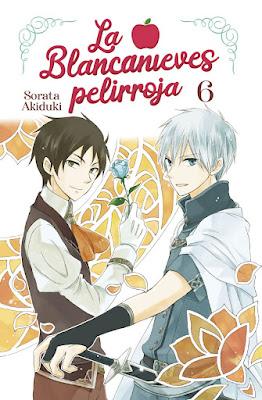 Review del manga La Blancanieves pelirroja Vol. 6 y 7 de  Sorata Akiduki - Norma Editorial