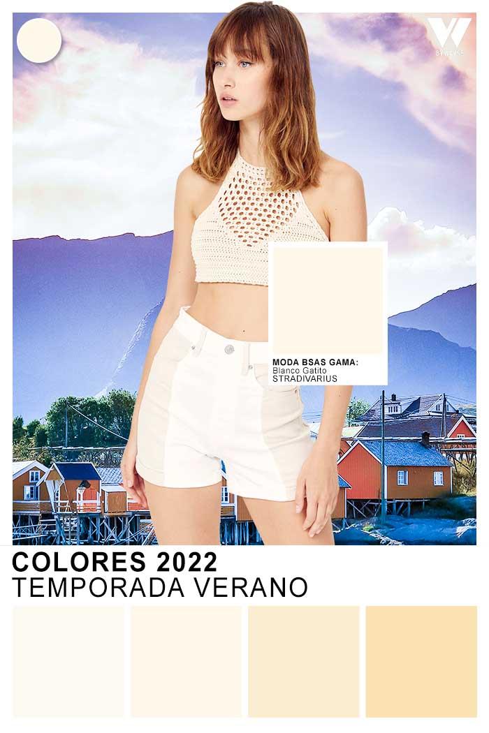 colores verano 2022 ropa de moda mujer