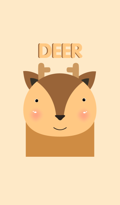 Simple deer theme