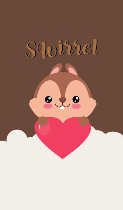 I,'m Lovely squirrel Theme