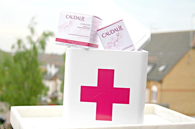 Caudalie Vinosource SOS Creme Hydration Intense Moisturising Cream and SOS Thirst Quenching Serum