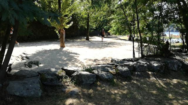 Areal da Praia Fluvial de Navarra