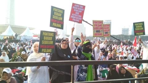 Satu Juta Umat Islam Jabar Diprediksi Pergi ke Jakarta Sambut Habib Rizieq