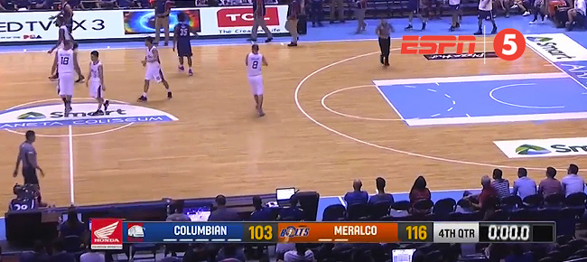 Meralco def. Columbian Dyip, 116-103 (REPLAY VIDEO) April 25