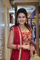 Jenny Honey in Stunning Dark Red Anarkali Dress at Splurge   Divalicious curtain raiser ~ Exclusive Celebrities Galleries 083.JPG
