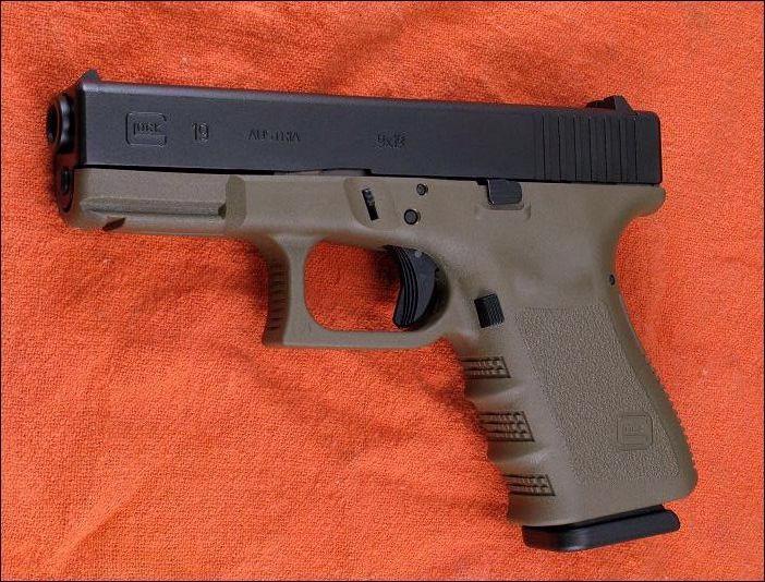 Pistola glock 19 armas de fuego - Pistola para lacar ...