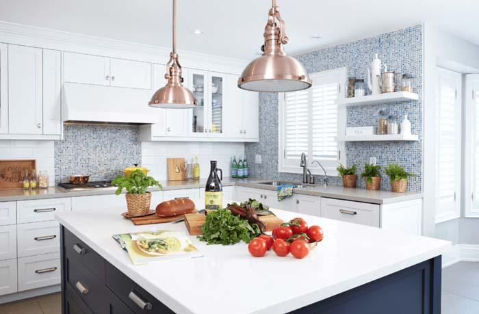 beyaz renk mutfak tasarımı
