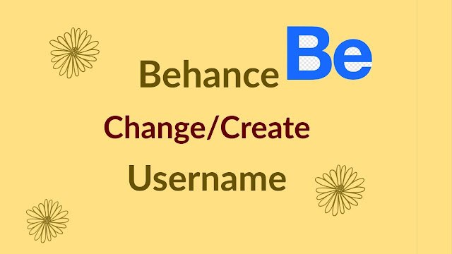How To Change Behance Url Username