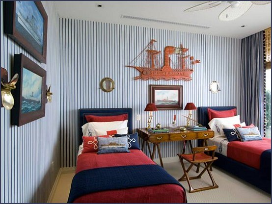 Maries Manor: Nautical Bedroom