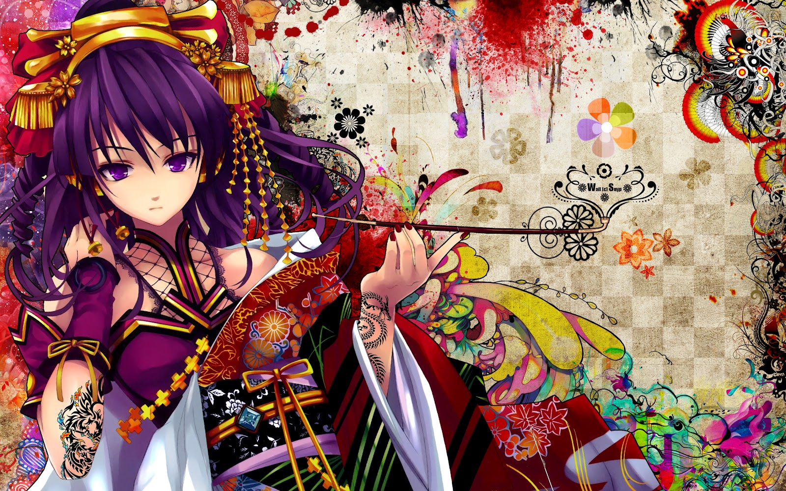 Nice HD Wallpapers: Anime: Geisha HD Wallpapers