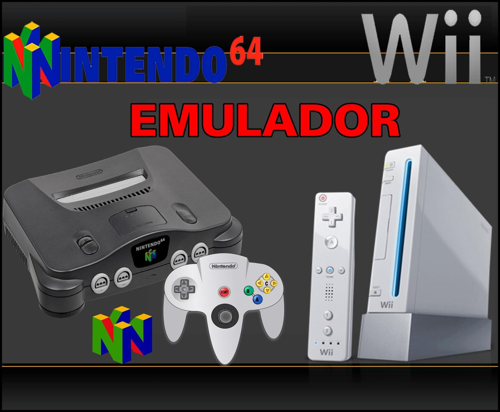 Wii Mod Brasil: Emulador Nintendo 64 (not64)- Nintendo Wii
