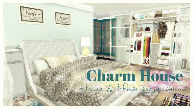 Charm House for The Sims 4